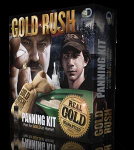 Gold Rush Panning Kit box